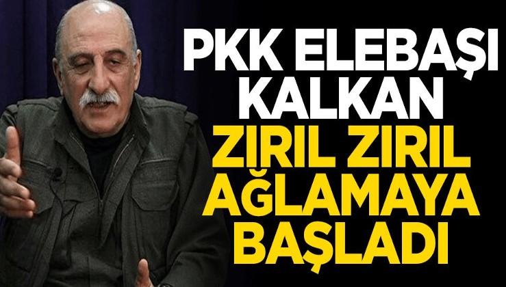 PKK elebaşı Kalkan zırıl zırıl ağlamaya başladı