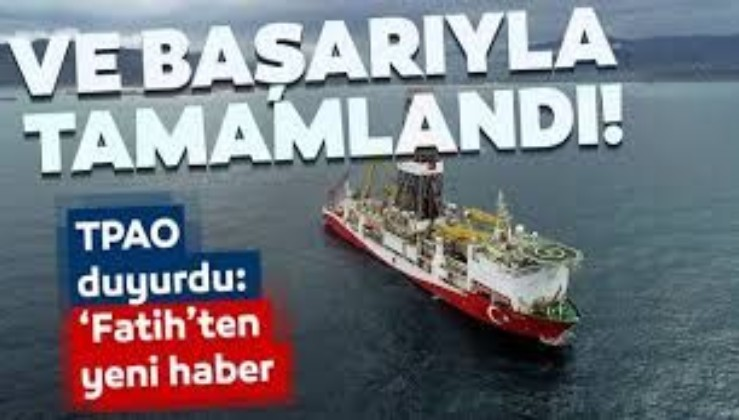 SON DAKİKA: Sakarya Gaz Sahası'ndaki ilk derin deniz tespit kuyusu Türkali-1'deki çalışmalar tamamlandı