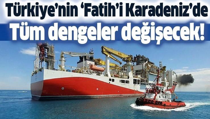 Fatih sondaj gemisi Karadeniz'de! Petrol arama çalışmaları o tarihte!