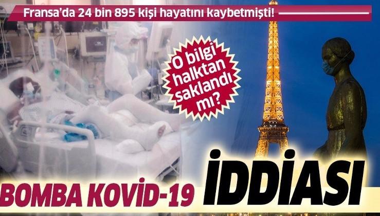 Son dakika: Fransa ile ilgili bomba Kovid-19 iddiası: