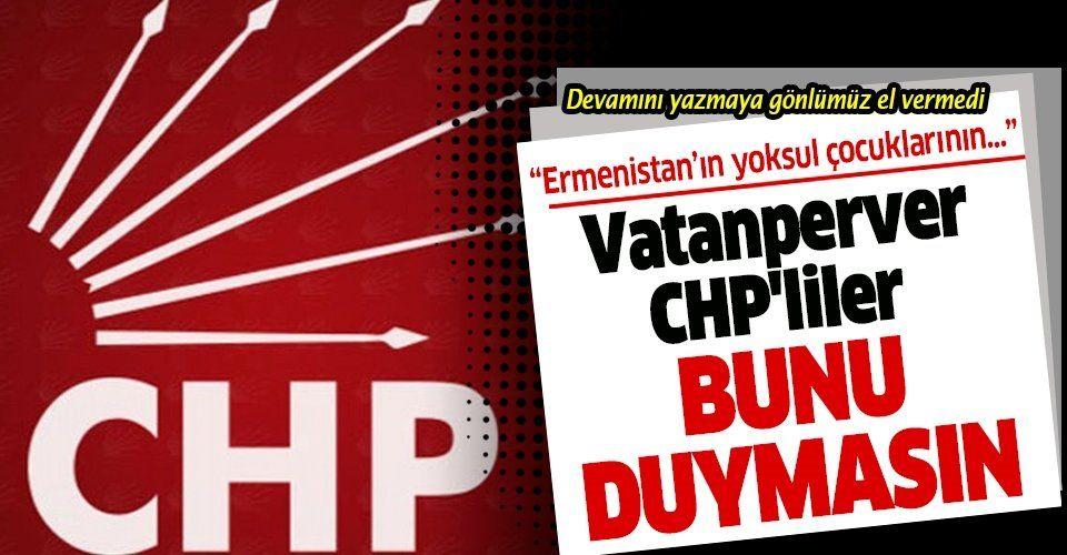 CHP yayınladığı bildiride işgalcilerin yanında oldu: