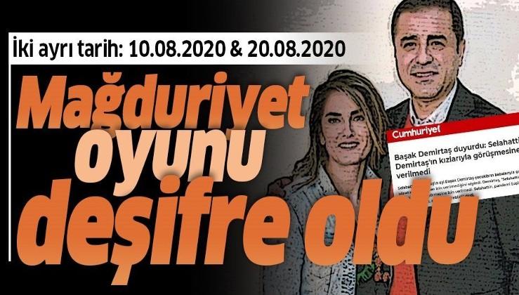 """""""Selahattin Demirtaş'ın kızlarıyla görüşmesine izin verilmedi"""" iddiası yalan çıktı! İşte görüşme tarihleri"""
