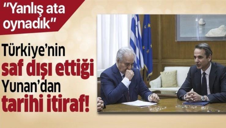 Son dakika: Yunanistan'dan tarihi Libya itirafı: Türkiye'nin işine yarıyor!.