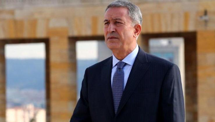 Bakan Akar'dan ABD Genelkurmay Başkanı Dunford'a tepki