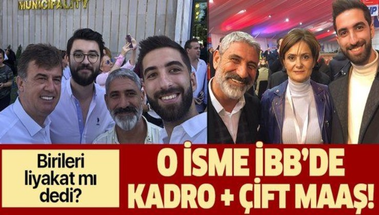 Liyakat söylemleri seçim öncesinde kaldı! CHP'li Tuzla İlçe Başkanı ve Tuzla Belediye Başkan adayı İBB'de göreve başladı!