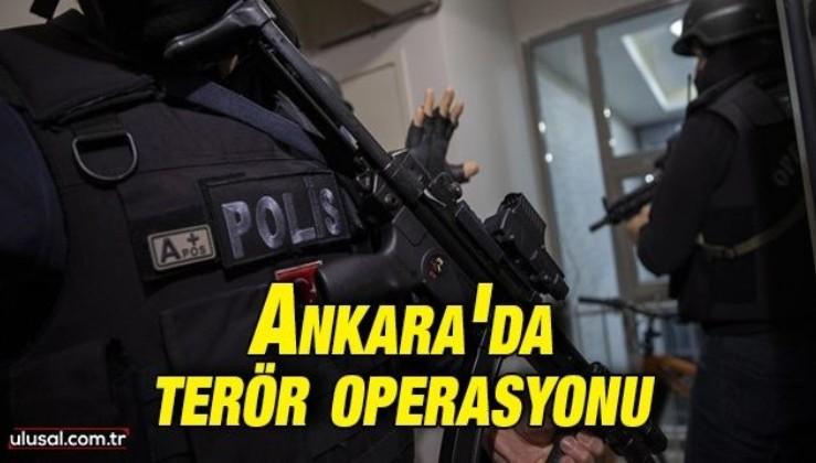 Ankara'da terör örgütü PKK/KCK-PYD/YPG'ye operasyon
