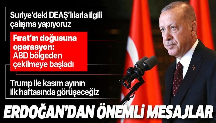 Erdoğan: ABD askerleri bölgeden çekilmeye başladı