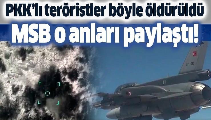 Son dakika: MSB duyurdu: 3 PKK'lı terörist etkisiz hale getirildi!