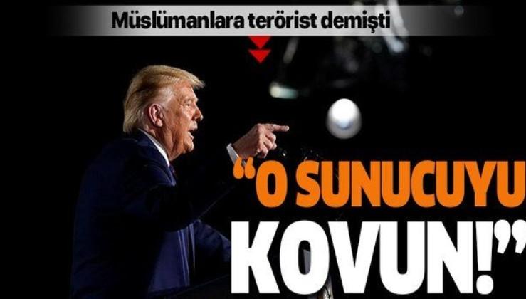 ABD Başkanı Donald Trump Müslümanlara terörist diyen sunucunun kovulmasını istedi