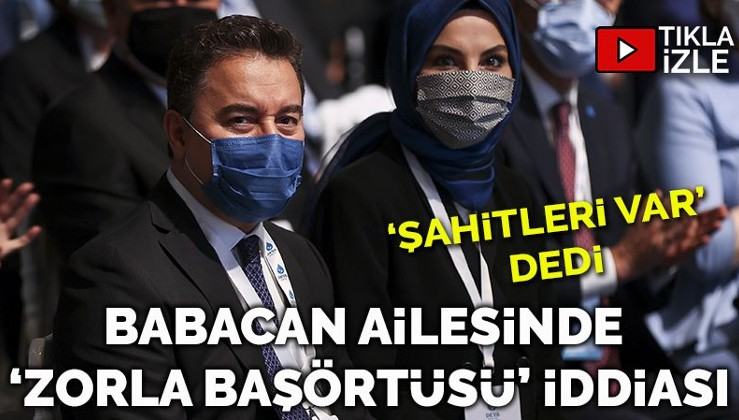 'Babacan kızına zorla başörtüsü taktırmaya çalıştı, üniversitede kriz çıktı'