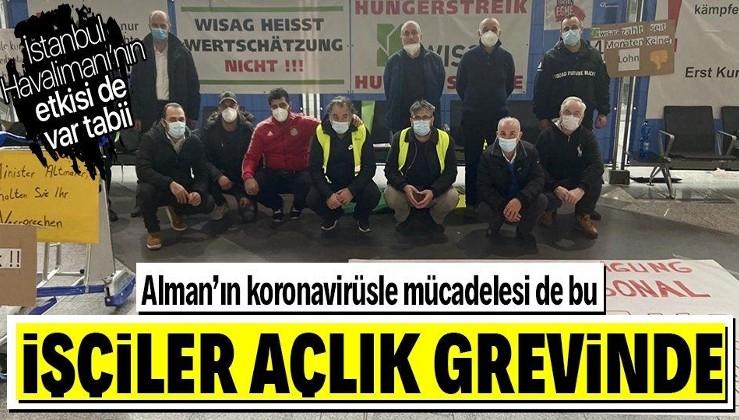 SON DAKİKA: Frankfurt Havalimanı'nda kriz! İşten çıkarılan 5 işçi açlık grevine başladı