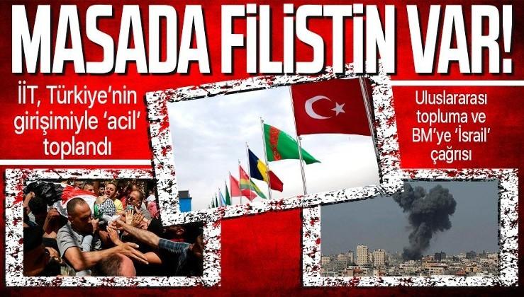 Son dakika: İslam İşbirliği Teşkilatı, Türkiye'nin girişimiyle toplandı: Masada Filistin meselesi var