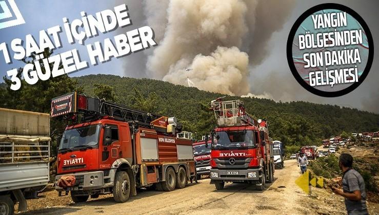 Yangın bölgelerinden peş peşe son dakika haberleri