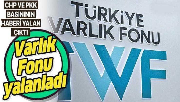 """Türkiye Varlık Fonu CHP ve PKK'ya yakın haber sitelerindeki """"Milli Piyango'ya vergi muafiyeti yapıldı"""" iddiasını yalanladı"""