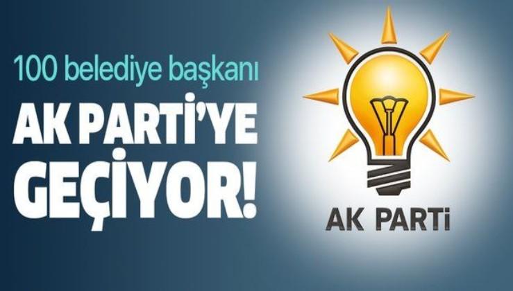 AK Partili Turan açıkladı: 100 belediye başkanı AK Parti'ye geçecek.