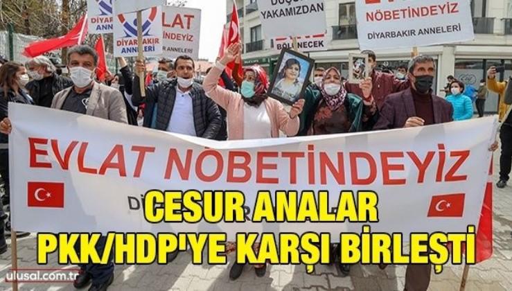 Cesur analar PKK/HDP'ye karşı birleşti