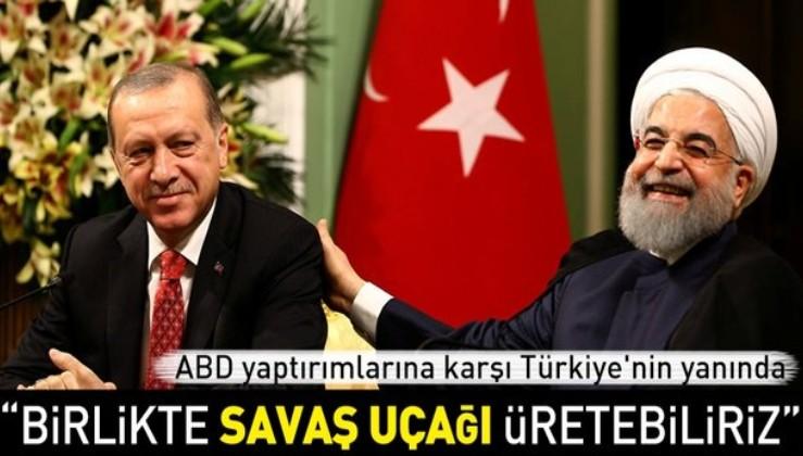 Ruhani: Türkiye ve İran savunma sanayisinde iş birliği yapabilir.