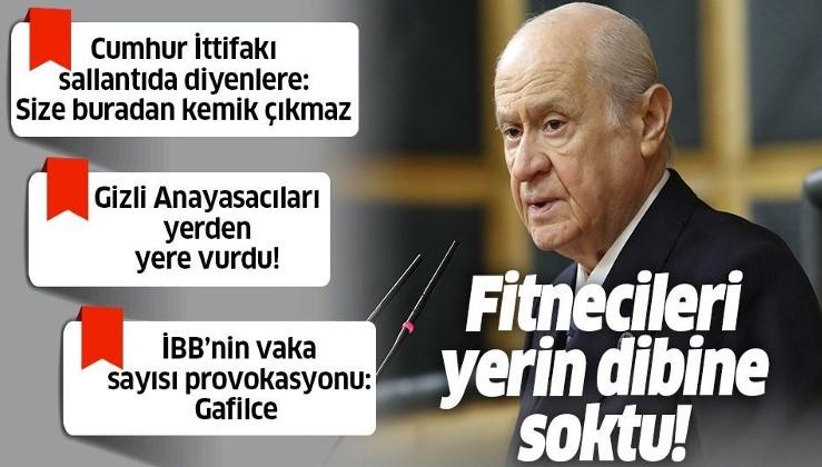 Son dakika: MHP lideri Devlet Bahçeli'den çok sert sözler