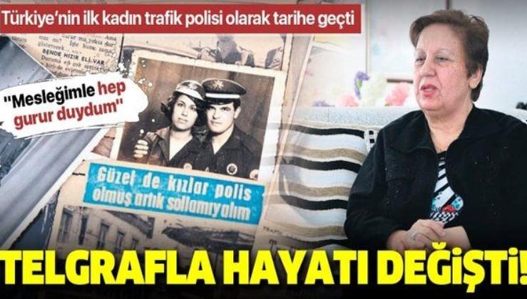 Türkiye'nin ilk kadın trafik polisi Fikriye Yavuz'un bir telgrafla değişen hayatı