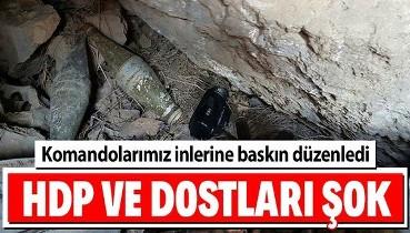HDP ve dostlarını üzen haber... PKK terör örgütüne gerçekleştirilen operasyonda çok sayıda mühimmat ele geçirildi