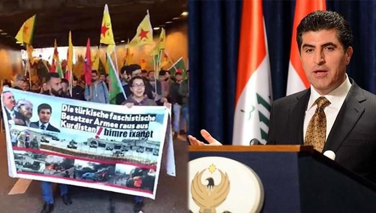 PKK ile Barzani birbirine düştü!