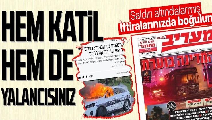 SON DAKİKA: Terör devleti İsrail hem alçak saldırılarına hem de yalanlarına devam ediyor! Gazetelerde iftira manşetleri
