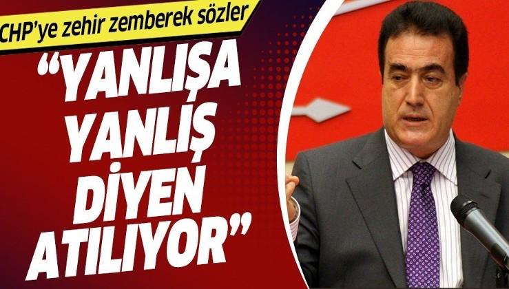Eski Genel Başkan Yardımcısı Yılmaz Ateş'ten CHP'deki ihraçlara tepki: Yanlışa yanlış diyen partiden atılıyor.