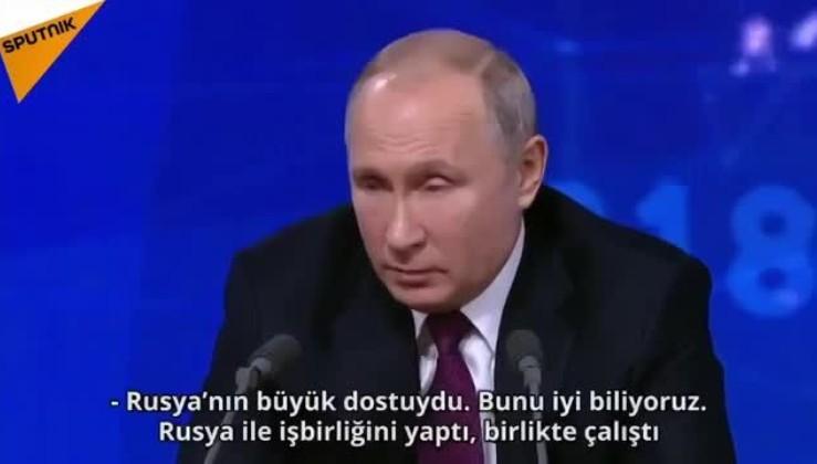 Putin'den dünya medyasının önünde Atatürk övgüsü