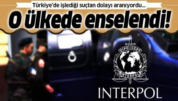 Türkiye'de işlediği suçtan dolayı Interpol'ün kırmızı bültenle aradığı şüpheli Bulgaristan'da yakalandı