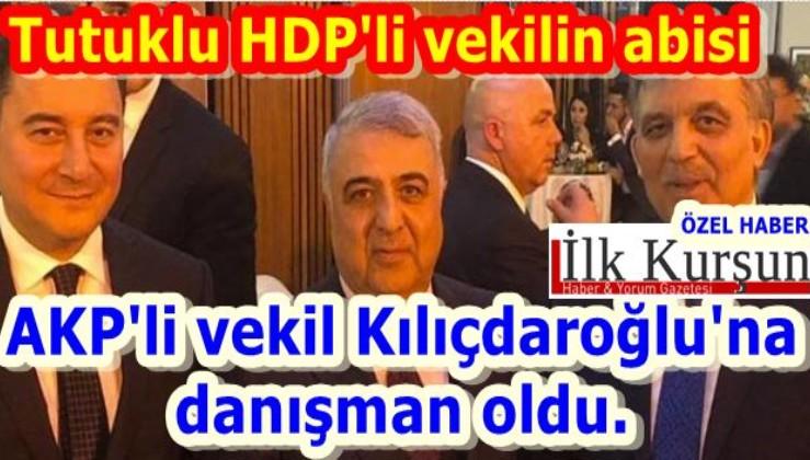 AKP'li vekil Kılıçdaroğlu'na danışman oldu. Tutuklu HDP'li vekilin abisi