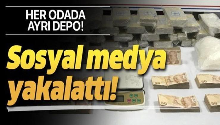 """Son dakika: Jandarmadan zehir tacirine """"sosyal medya"""" takibi! Evin her köşesinden uyuşturucu çıktı"""