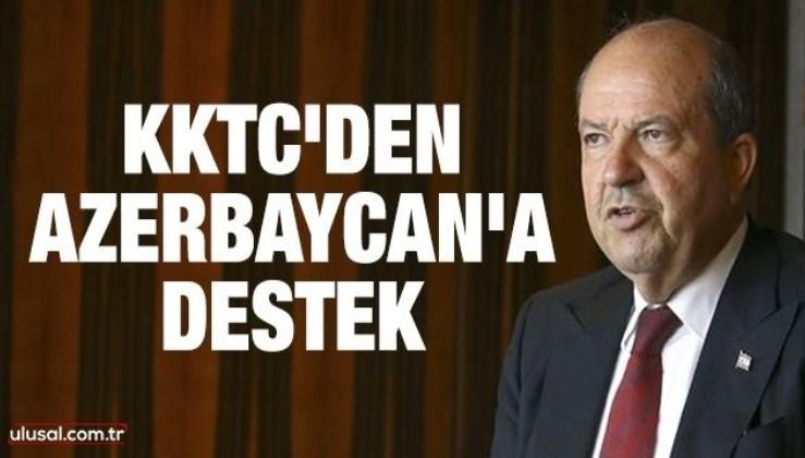 KKTC'den Azerbaycan'a destek