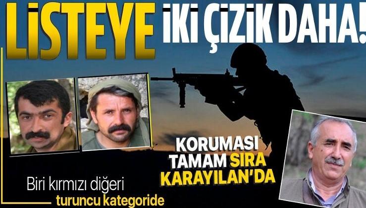 Mardin'de etkisiz hale getirilen 6 teröristten 2'si kırmızı ve turuncu listede! Biri Karayılan'ın koruması...