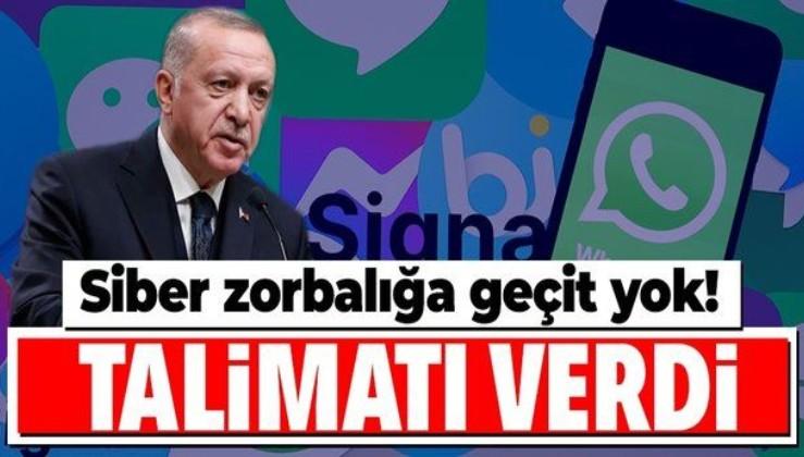 Erdoğan'dan partililere sosyal medya talimatı