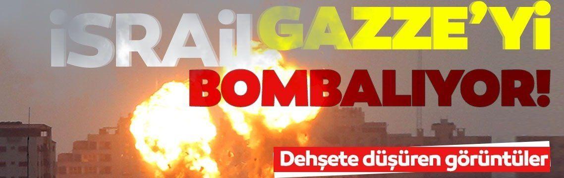Son dakika: Terör devleti İsrail, Gazze'yi bombalıyor: Yaşlı, kadın, çocuk gözetmeksizin siviller hedef alındı