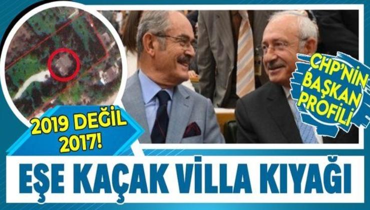 """Yılmaz Büyükerşen'den eşinin kaçak villasına """"usulsuz imar barışı"""" kıyağı"""