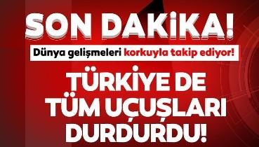 4 ülkeden Türkiye'ye uçuşlar durduruldu... THY ve SHGM'den son dakika açıklamaları!