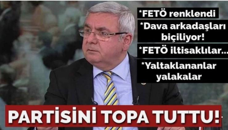 AKP'li Metiner'den partisine zehir zemberek yazı: FETÖ renk değiştirdi, dava arkadaşlarımız biçildi!