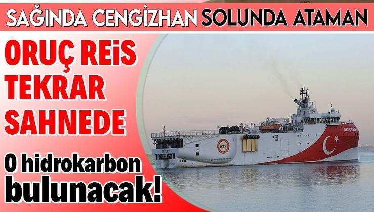 Hidrokarbon avcısı Oruç Reis gemimiz Antalya Limanı'ndan ayrılarak Doğu Akdeniz'in derinliklerine yol aldı