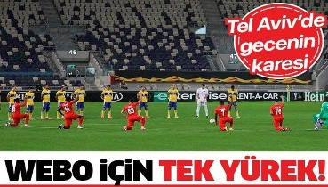 UEFA Avrupa Ligi'nde Sivassporlu futbolculardan 'Pierre Webo' tepkisi: Irkçılığa karşı diz çöktüler