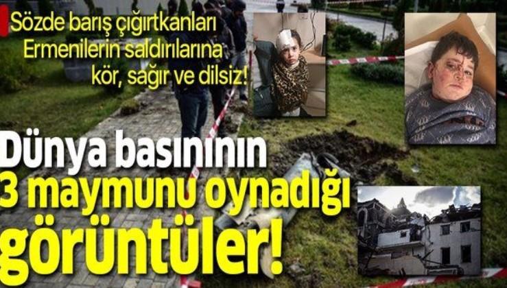Ermenistan sivil halkı hedef alıyor dünya basını susuyor!