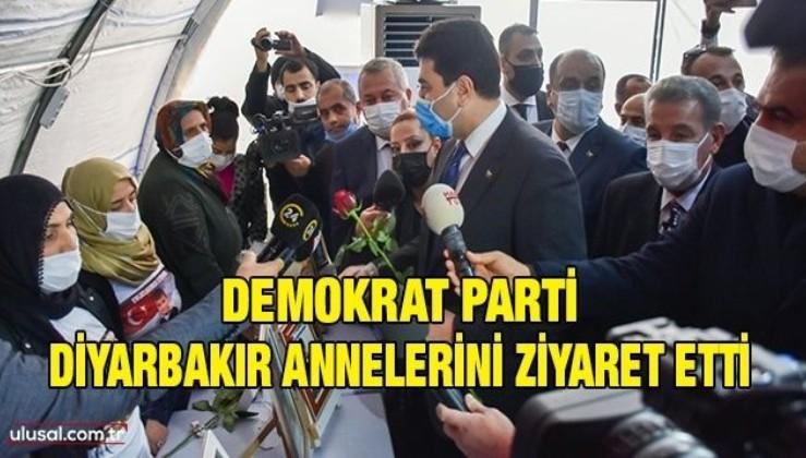 Demokrat Parti Diyarbakır Annelerini ziyaret etti
