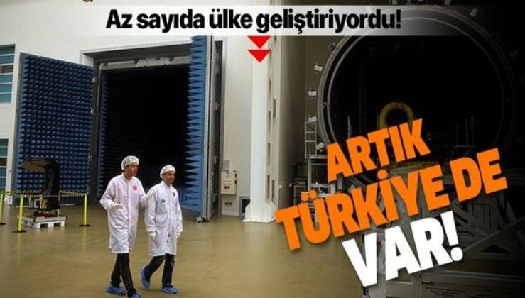 Uzay yarışında Türkiye de var!