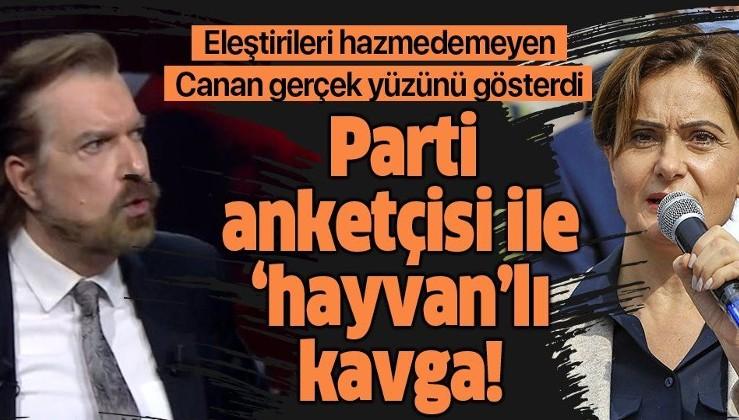 Canan Kaftancıoğlu eleştirileri hazmedemeyince hakaret etti! Hakan Bayrakçı'nın eleştirilerine hayvanlı cevap!