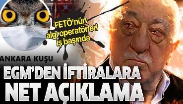 EGM'den FETÖ'nün sosyal medya yapılanması Ankara Kuşu'nun iftiralarına yalanlama