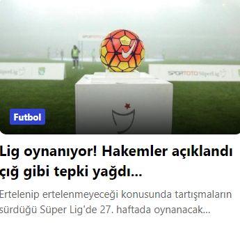 Süper Lig'de haftanın hakemleri belli oldu! Sosyal medyada büyük tepki…