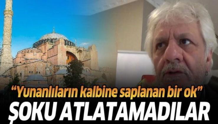 Yunan gazeteci Stelyo Berberakis: Ayasofya'nın cami olarak açılması Yunanlıların kalbine saplanan bir ok