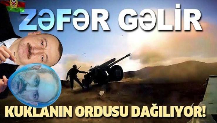 Ermenistan ordusu geri çekiliyor! Azerbaycan zafere yaklaştı!
