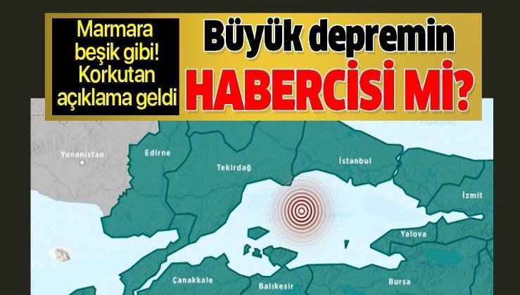 Son dakika: İstanbul'da hissedilen 4.7 büyüklüğündeki deprem sonrası korkutan açıklama.