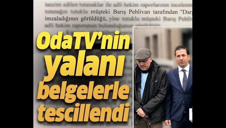 OdaTV'nin yalanı tescillendi! .